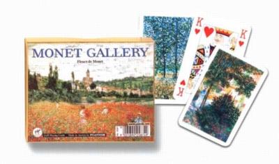 Monet: Fleurs - Double Deck Playing Cards