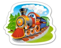 Steam Train - 15pc Jigsaw Puzzle By Castorland