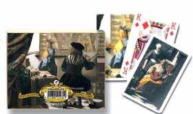 Vermeer - Double Deck Playing Cards