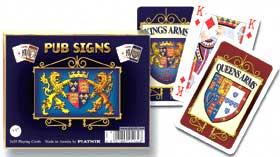 Pub Signs: Coat of Arms - Double Deck Playing Cards