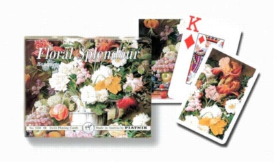 Bouquet (Jumbo Index) - Double Deck Playing Cards