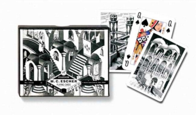 Escher: Up & Down - Double Deck Playing Cards