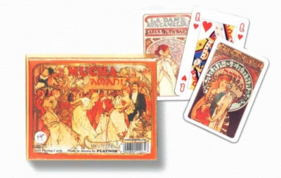 Mucha: Sara Bernhardt - Double Deck Playing Cards