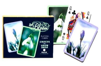 Crocus & Snowdrop - Double Deck Playing Cards