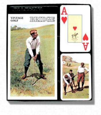 Vintage Golf (Jumbo Index) - Bridge Set