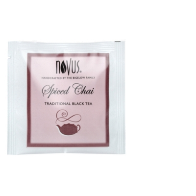 Novus Handcrafted Tea - Spiced Chai - Individually Wrapped Tea Bags