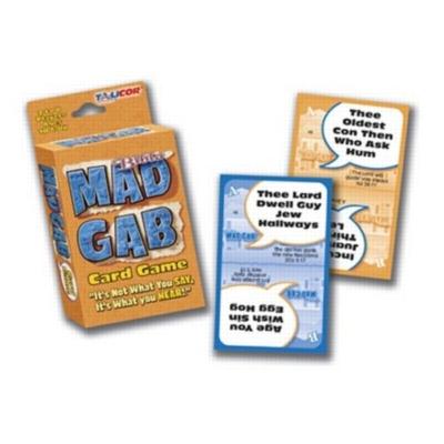 Bible Big Deal Mad Gab - Card Game