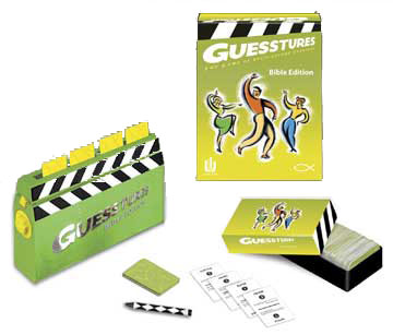 Guesstures Bible Edition - Charades Game