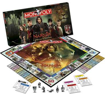 Monopoly: Chronicles of Narnia Edition - Board Game