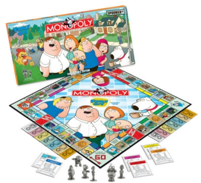 Monopoly: Family Guy Edition - Board Game