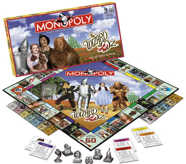 Monopoly: Wizard of Oz Edition - Board Game