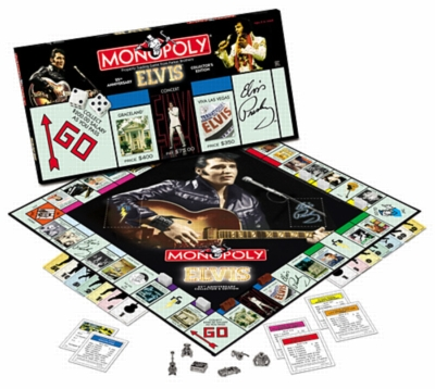 Monopoly: Elvis Edition - Board Game