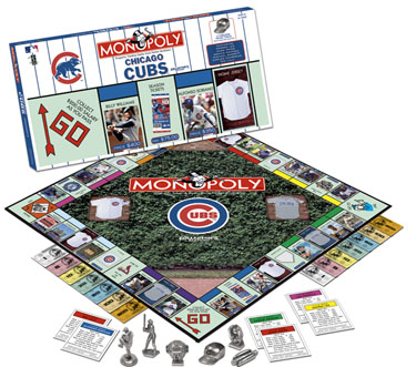 Monopoly: Chicago Cubs Edition - Board Game