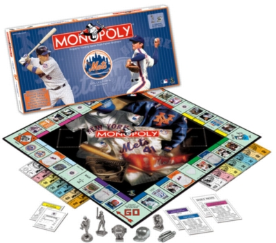 Monopoly: New York Mets 2006 Edition - Board Game