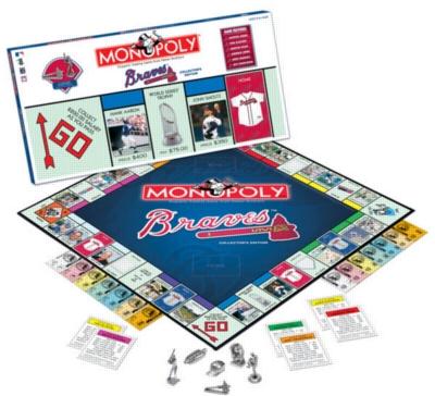 Monopoly: Atlanta Braves Edition - Board Game