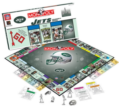 Monopoly: New York Jets Edition - Board Game