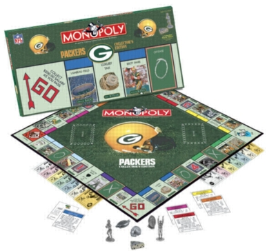 Monopoly: Green Bay Packers Edition - Board Game