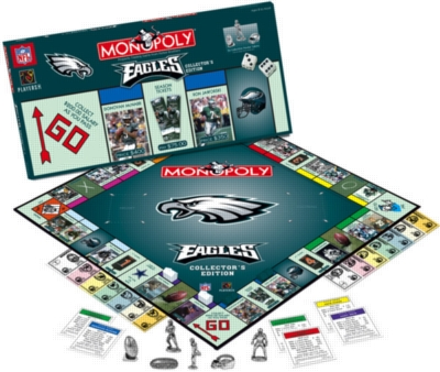 Monopoly: Philadelphia Eagles Edition - Board Game