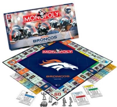 Monopoly: Denver Broncos Edition - Board Game