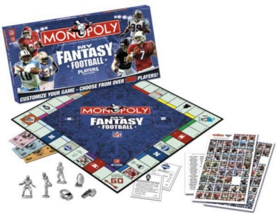 Monopoly: My Fantasy Football Edition - Board Game