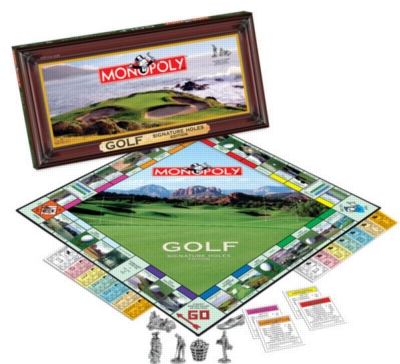 Monopoly: Golf Signature Holes Edition - Board Game
