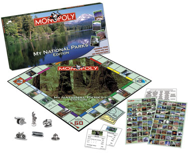 Monopoly: My National Parks Edition - Board Game