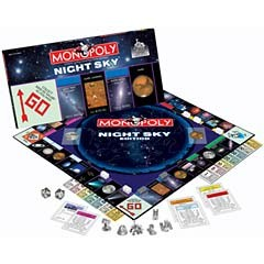 Monopoly: Night Sky Edition - Board Game