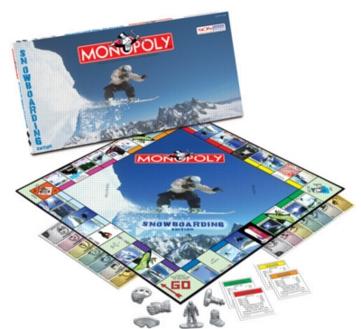 Monopoly: Snowboarding Edition - Board Game