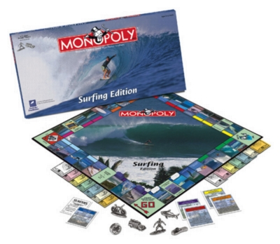 Monopoly: Surfing Edition - Board Game