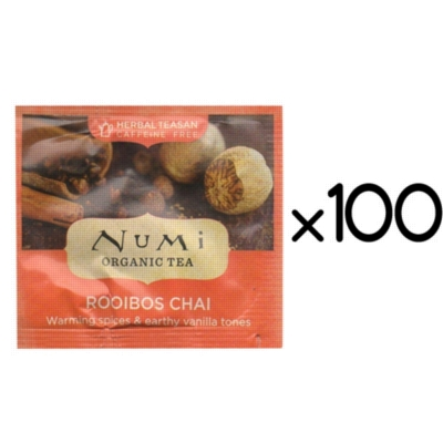 Numi Tea: Rooibos Chai - Box of 100 Tea Bags