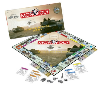 Monopoly: Army Edition - Board Game