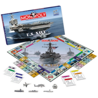 Monopoly: Navy Edition - Board Game