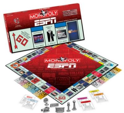Monopoly: ESPN Edition - Board Game