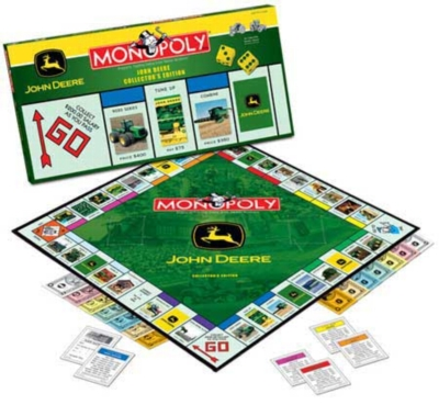 Monopoly: John Deere Edition - Board Game