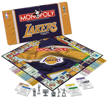 Monopoly: Los Angeles Lakers Edition - Board Game