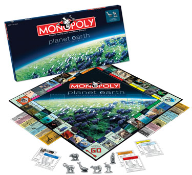 Monopoly: Planet Earth Edition - Board Game