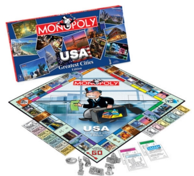 Monopoly: USA's Greatest Cities Edition - Board Game