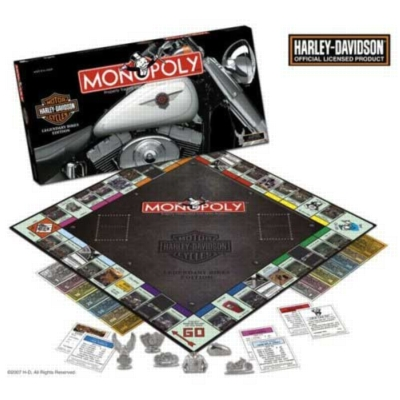 Monopoly: Harley Davidson Edition - Board Game