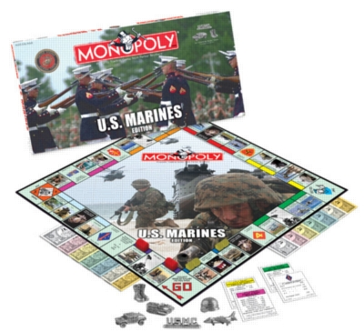 Monopoly: Marines Edition - Board Game