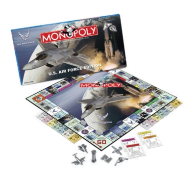Monopoly: Air Force Edition - Board Game