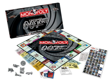 Monopoly: My James Bond Edition - Board Game