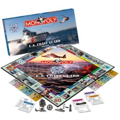Monopoly: Coast Guard Edition - Board Game