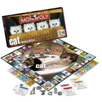 Monopoly: Cat Lover's Edition - Board Game