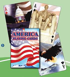 American Flag - Playing Cards