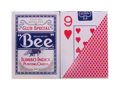 Bee: Poker (Jumbo Index)