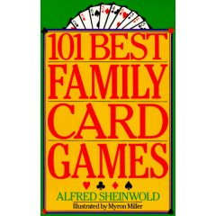 101 Best Family Card Games - Book