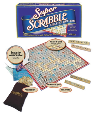 Super Scrabble Deluxe - Word Game