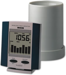 Wireless Rainmeter with History - Electronic Rain Gauge