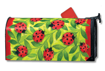 Lotsa Ladybugs - Mailbox Cover By Magnet Works