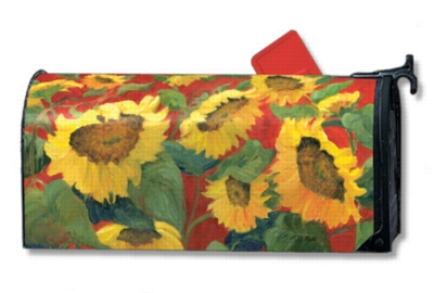 Summer Sunflowers - Mailbox Cover By Magnet Works